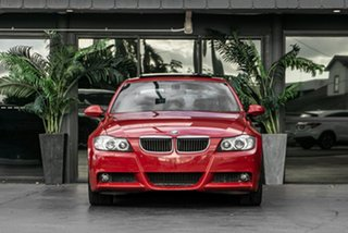 2008 BMW 3 Series E90 MY08 320i Steptronic Executive Red 6 Speed Sports Automatic Sedan.