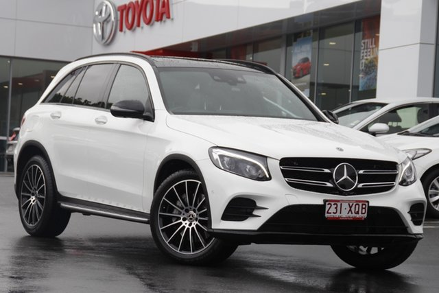 Pre-Owned Mercedes-Benz GLC-Class X253 808MY GLC350 d 9G-Tronic 4MATIC Woolloongabba, 2017 Mercedes-Benz GLC-Class X253 808MY GLC350 d 9G-Tronic 4MATIC Polar White 9 Speed