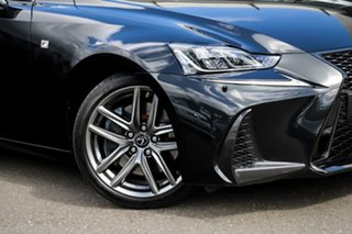 2018 Lexus IS ASE30R IS300 F Sport Black 8 Speed Sports Automatic Sedan