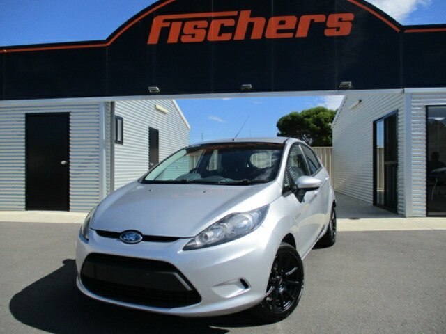 Used Ford Fiesta WS LX Murray Bridge, 2009 Ford Fiesta WS LX Silver 5 Speed Manual Hatchback