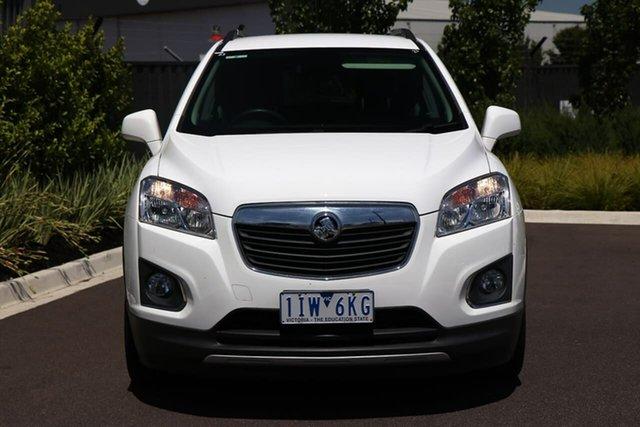 Used Holden Trax TJ MY16 LTZ Essendon Fields, 2016 Holden Trax TJ MY16 LTZ White 6 Speed Automatic Wagon