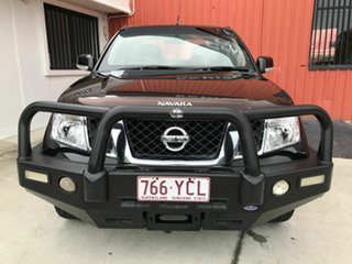 2012 Nissan Navara D40 S6 MY12 ST Black 5 Speed Sports Automatic Utility.