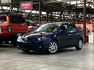 2008 Mazda 3 BK10F2 MY08 Maxx Sport Blue 4 Speed Sports Automatic Sedan.