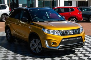 2020 Suzuki Vitara LY Series II 2WD Yellow & Black 6 Speed Sports Automatic Wagon.