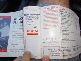 1992 Toyota Corolla AE94 CSi Seca White 4 Speed Automatic Liftback