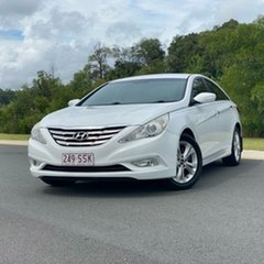 2011 Hyundai i45 YF MY11 Elite White 6 Speed Sports Automatic Sedan.