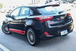 2013 Hyundai i30 GD Active Black 6 Speed Manual Hatchback.