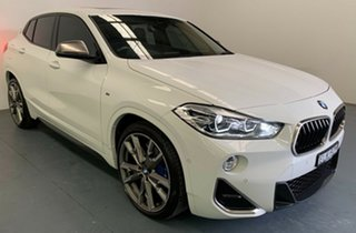 2018 BMW X2 F39 M35i Coupe Steptronic AWD White 8 Speed Sports Automatic Wagon.