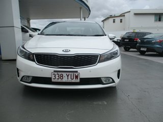 2017 Kia Cerato YD MY17 Sport White 6 Speed Auto Seq Sportshift Hatchback