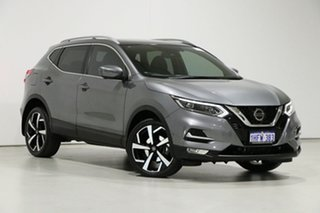 2018 Nissan Qashqai J11 MY18 TI Grey Continuous Variable Wagon.