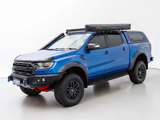 2019 Ford Ranger PX MkIII MY19.75 Raptor 2.0 (4x4) Blue 10 Speed Automatic Double Cab Pick Up.