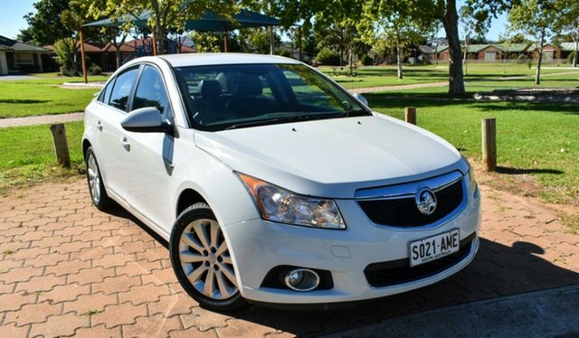 Used Holden Cruze JG CDX Ingle Farm, 2010 Holden Cruze JG CDX White 6 Speed Sports Automatic Sedan