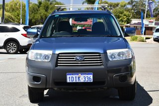 2007 Subaru Forester 79V MY07 X AWD Blue 4 Speed Automatic Wagon