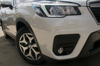 2020 Subaru Forester MY20 2.5I-L (AWD) Crystal White Continuous Variable Wagon.