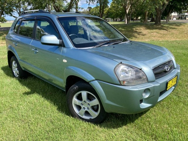 Used Hyundai Tucson JM MY07 City SX South Grafton, 2008 Hyundai Tucson JM MY07 City SX Blue 5 Speed Manual Wagon