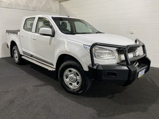 2016 Holden Colorado RG MY16 LS Crew Cab Summit White 6 Speed Manual Utility.