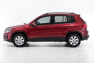 2014 Volkswagen Tiguan 5N MY14 132TSI DSG 4MOTION Pacific Red 7 Speed Sports Automatic Dual Clutch