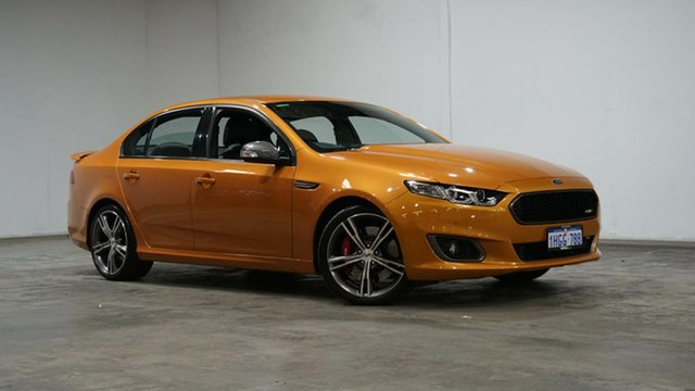 Used Ford Falcon FG X XR8 Welshpool, 2015 Ford Falcon FG X XR8 Gold 6 Speed Sports Automatic Sedan