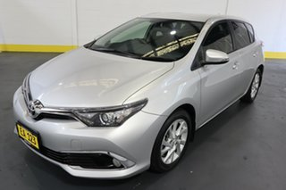 2017 Toyota Corolla ZRE182R Ascent Sport S-CVT Silver 7 Speed Constant Variable Hatchback