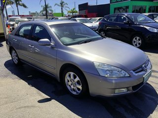 2004 Honda Accord 7th Gen V6 Luxury Grey 5 Speed Automatic Sedan.