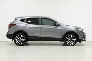 2018 Nissan Qashqai J11 MY18 TI Grey Continuous Variable Wagon