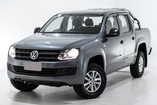 2016 Volkswagen Amarok 2H MY16 TDI420 4MOTION Perm Core Grey 8 Speed Automatic Utility.