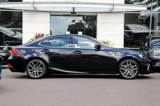 2018 Lexus IS ASE30R IS300 F Sport Black 8 Speed Sports Automatic Sedan.