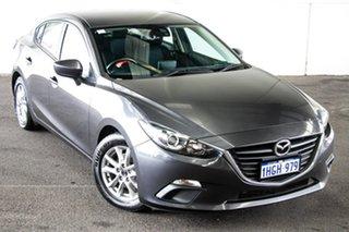 2014 Mazda 3 BM Maxx Grey 6 Speed Automatic Sedan.