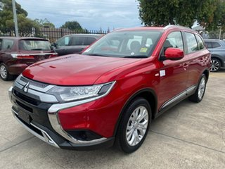 2019 Mitsubishi Outlander ZL MY20 ES 2WD Diamond Red 5 Speed Manual Wagon