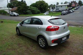 2015 Kia Rio UB MY15 S Silver 4 Speed Sports Automatic Hatchback.