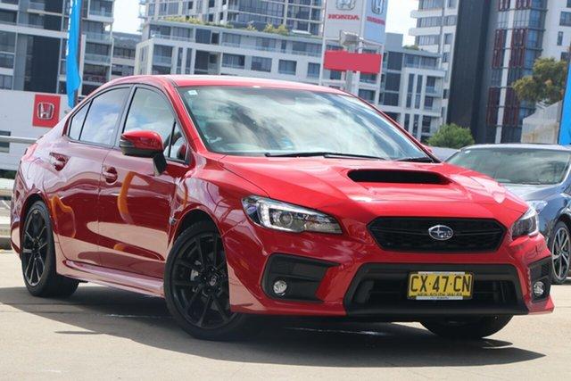 Used Subaru WRX MY20 Premium (AWD) Rosebery, 2020 Subaru WRX MY20 Premium (AWD) Pure Red Continuous Variable Sedan