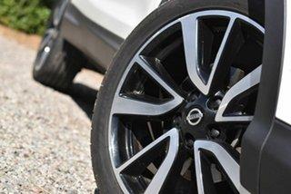 2017 Nissan Qashqai J11 TL White 1 Speed Constant Variable Wagon