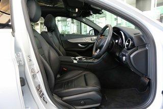 2018 Mercedes-Benz C-Class W205 808MY C350 e 7G-Tronic + Silver 7 Speed Sports Automatic Sedan.