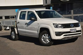 2017 Volkswagen Amarok 2H MY17 TDI420 4x2 White 8 Speed Automatic Cab Chassis.