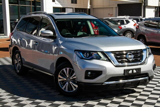 Used Nissan Pathfinder R52 Series III MY19 ST-L X-tronic 2WD Attadale, 2019 Nissan Pathfinder R52 Series III MY19 ST-L X-tronic 2WD Silver 1 Speed Constant Variable Wagon