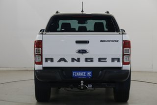 2020 Ford Ranger PX MkIII 2020.25MY Wildtrak Arctic White 6 Speed Sports Automatic