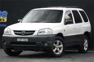 2004 Mazda Tribute MY2004 Classic White 4 Speed Automatic Wagon.