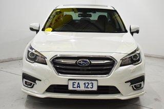 2019 Subaru Liberty B6 MY19 2.5i CVT AWD Premium White 6 Speed Constant Variable Sedan.
