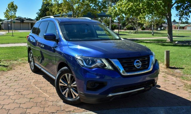 Used Nissan Pathfinder R52 Series II MY17 ST X-tronic 2WD Ingle Farm, 2017 Nissan Pathfinder R52 Series II MY17 ST X-tronic 2WD Blue 1 Speed Constant Variable Wagon