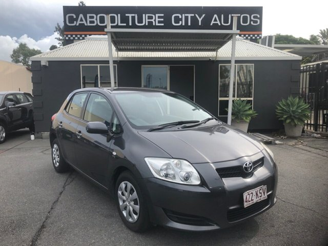 Used Toyota Corolla ZRE152R Ascent Morayfield, 2007 Toyota Corolla ZRE152R Ascent Grey 4 Speed Automatic Hatchback