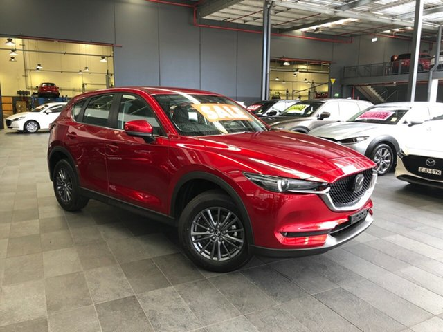 New Mazda CX-5 KF2W7A Maxx SKYACTIV-Drive FWD Sport Alexandria, 2020 Mazda CX-5 KF2W7A Maxx SKYACTIV-Drive FWD Sport Soul Red Crystal 6 Speed Sports Automatic Wagon