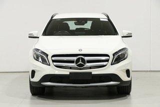 2017 Mercedes-Benz GLA180 X156 MY17 White 7 Speed Auto Dual Clutch Wagon.