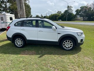 2017 Holden Captiva CG MY17 Active 2WD White 6 Speed Sports Automatic Wagon