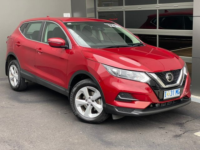 Used Nissan Qashqai J11 Series 2 ST X-tronic Moonah, 2019 Nissan Qashqai J11 Series 2 ST X-tronic Red 1 Speed Constant Variable Wagon