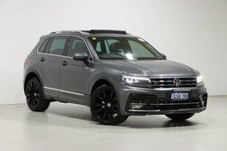 2018 Volkswagen Tiguan 5NA MY18 162 TSI Highline Grey 7 Speed Auto Direct Shift Wagon.