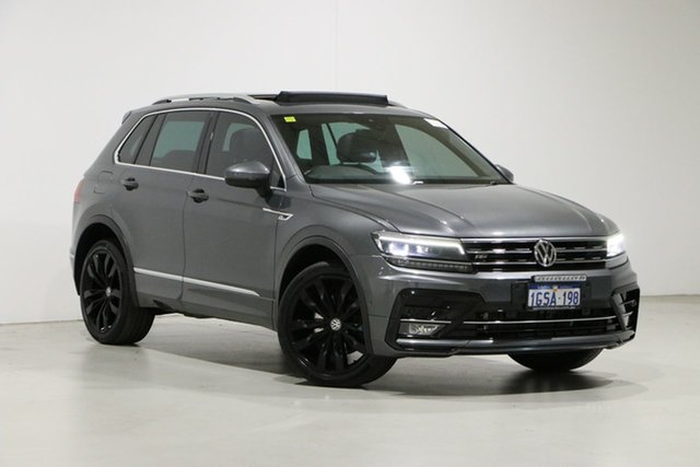 Used Volkswagen Tiguan 5NA MY18 162 TSI Highline Bentley, 2018 Volkswagen Tiguan 5NA MY18 162 TSI Highline Grey 7 Speed Auto Direct Shift Wagon