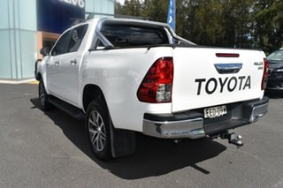 2019 Toyota Hilux GUN126R SR5 Double Cab White 6 Speed Manual Utility