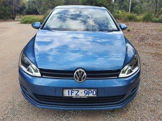 2015 Volkswagen Golf 7 92TSI Trendline Blue Sports Automatic Dual Clutch Hatchback