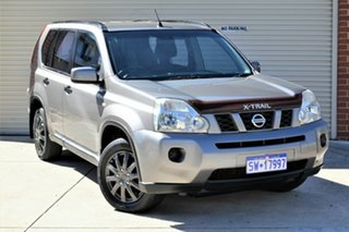 2010 Nissan X-Trail T31 MY10 ST Grey 6 Speed Manual Wagon.