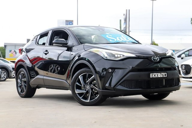 Used Toyota C-HR NGX10R Koba S-CVT 2WD Kirrawee, 2020 Toyota C-HR NGX10R Koba S-CVT 2WD Black 7 Speed Constant Variable Wagon